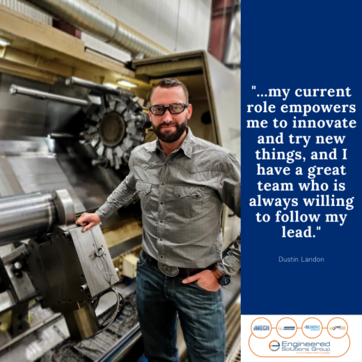Dustin Landon named Next Generation of Manufacturing Leaders by Canadian Metal Working